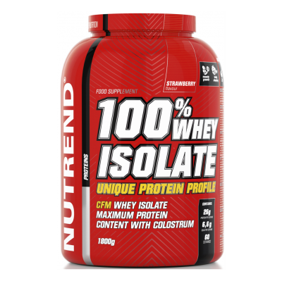 %100 Whey Isolate